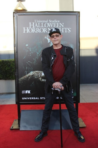 John Murdy07 336x504 - Halloween Horror Nights Hollywood - Dread Central Attends the Red Carpet Kick-Off; Photo Gallery