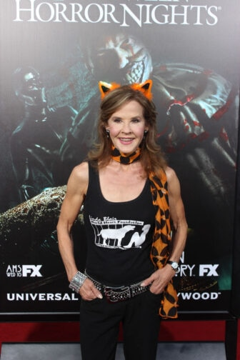 Linda Blair08 336x504 - Halloween Horror Nights Hollywood - Dread Central Attends the Red Carpet Kick-Off; Photo Gallery