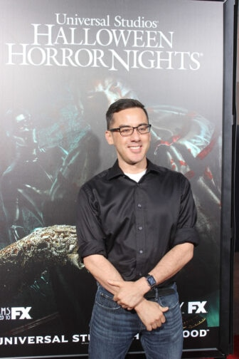Michael Dougherty09 336x504 - Halloween Horror Nights Hollywood - Dread Central Attends the Red Carpet Kick-Off; Photo Gallery