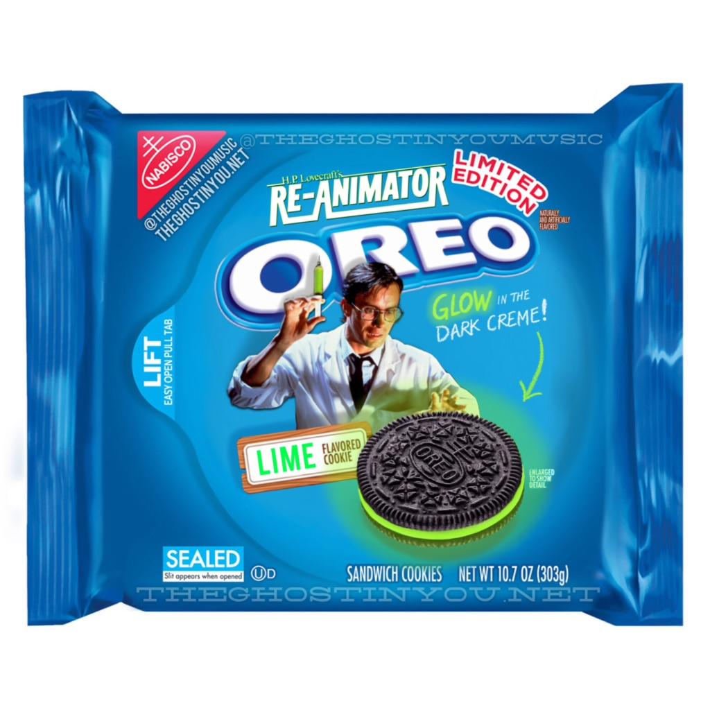 Re Animator 1024x1024 - What if Your Favorite Horror Movies Got Their Own Oreos?