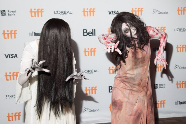 Sadako and Kayako at Premiere