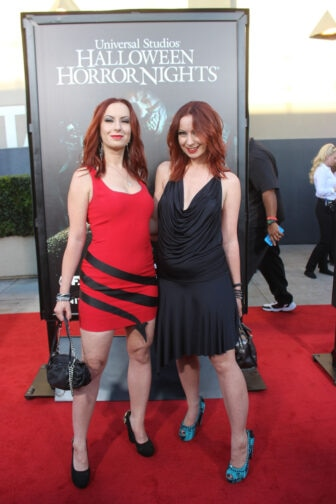 Soska Sisters13 336x504 - Halloween Horror Nights Hollywood - Dread Central Attends the Red Carpet Kick-Off; Photo Gallery