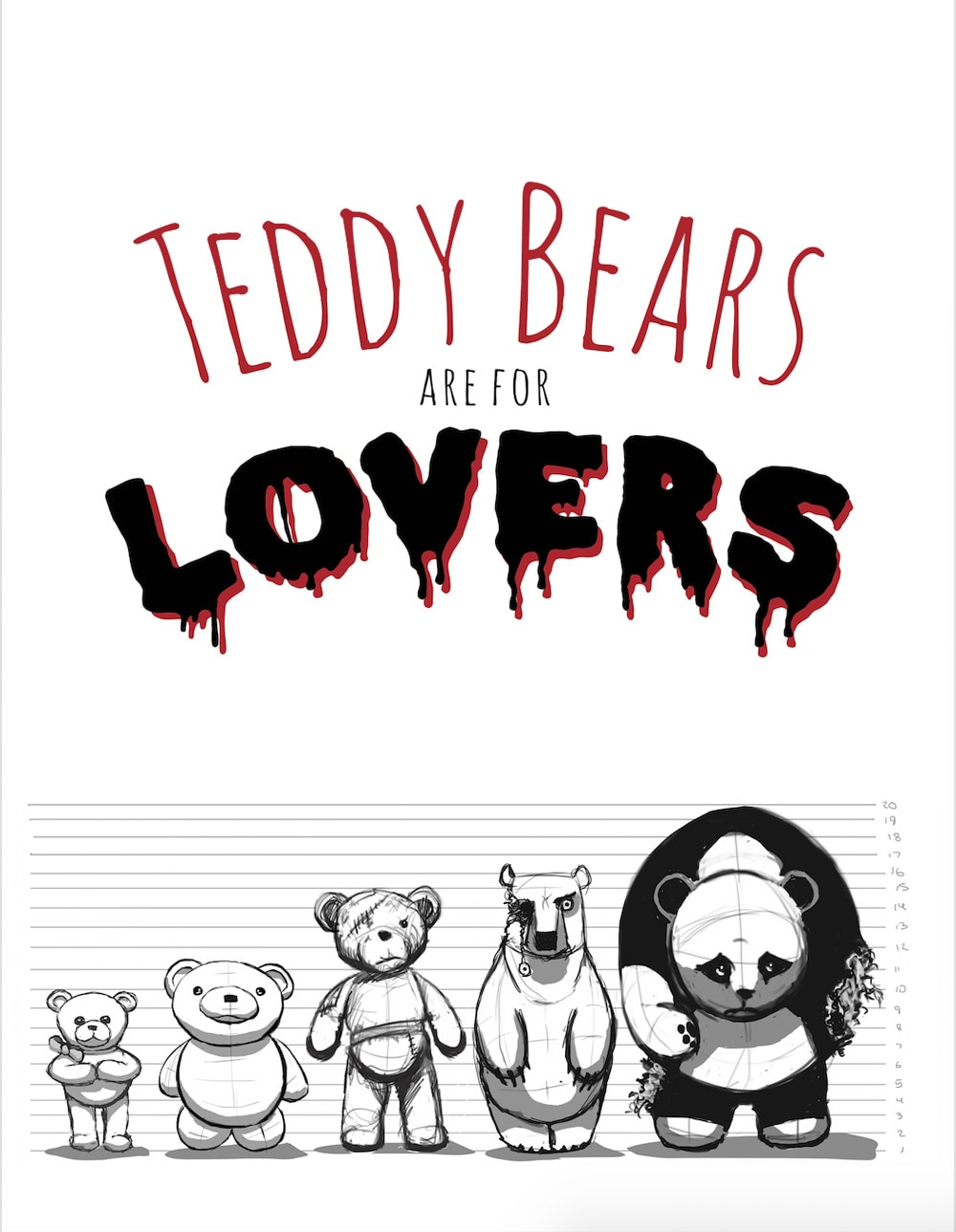 TBAFL poster - New Short Shows that Teddy Bears Are for Lovers