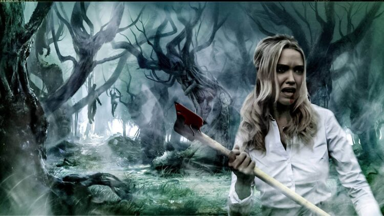 The Obsidian Curse 1 750x422 - Woman Becomes an Evil Magnet in The Obsidian Curse Trailer
