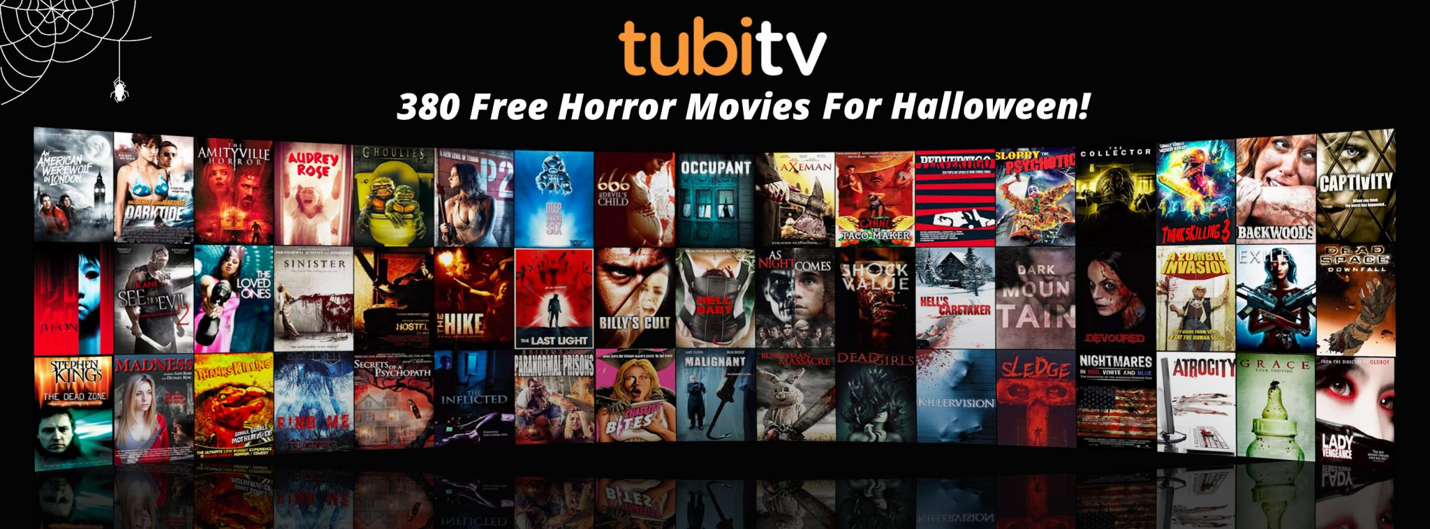 tubi tv goes big this halloween nearly horror movies streaming for free dread central