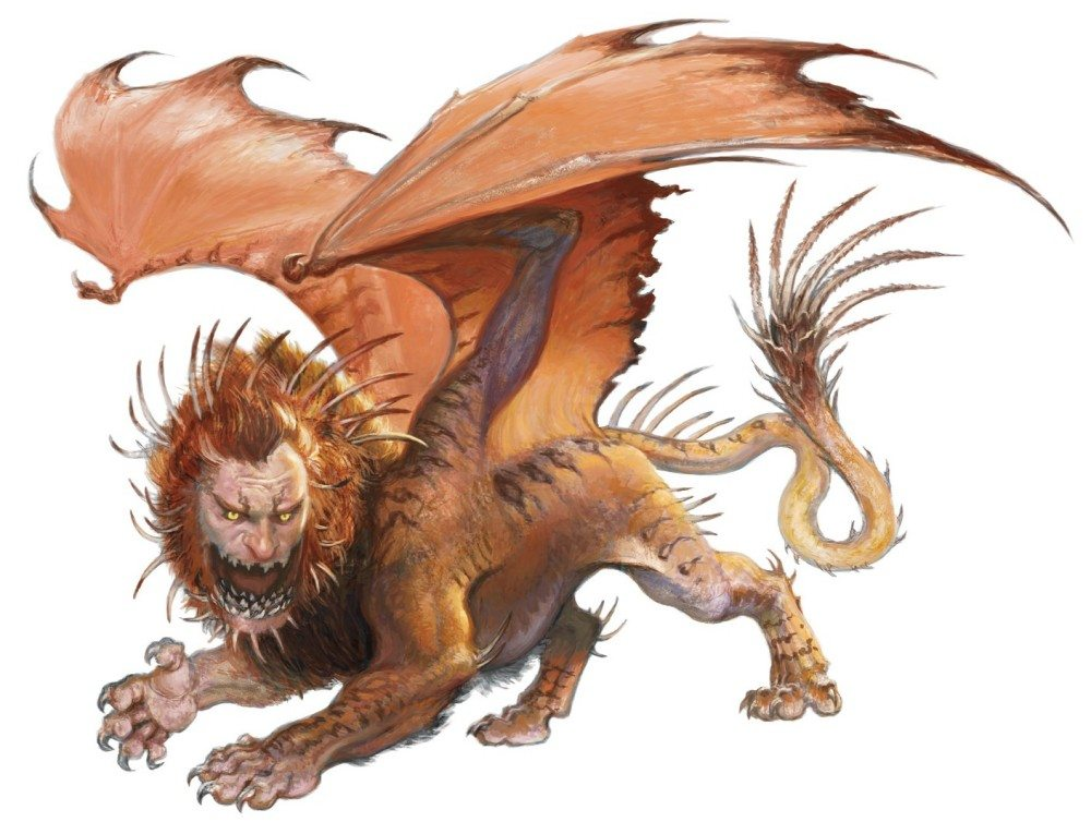 manticore - Stranger Things Season 2 - 10 Dungeons and Dragons Monsters We Want to See