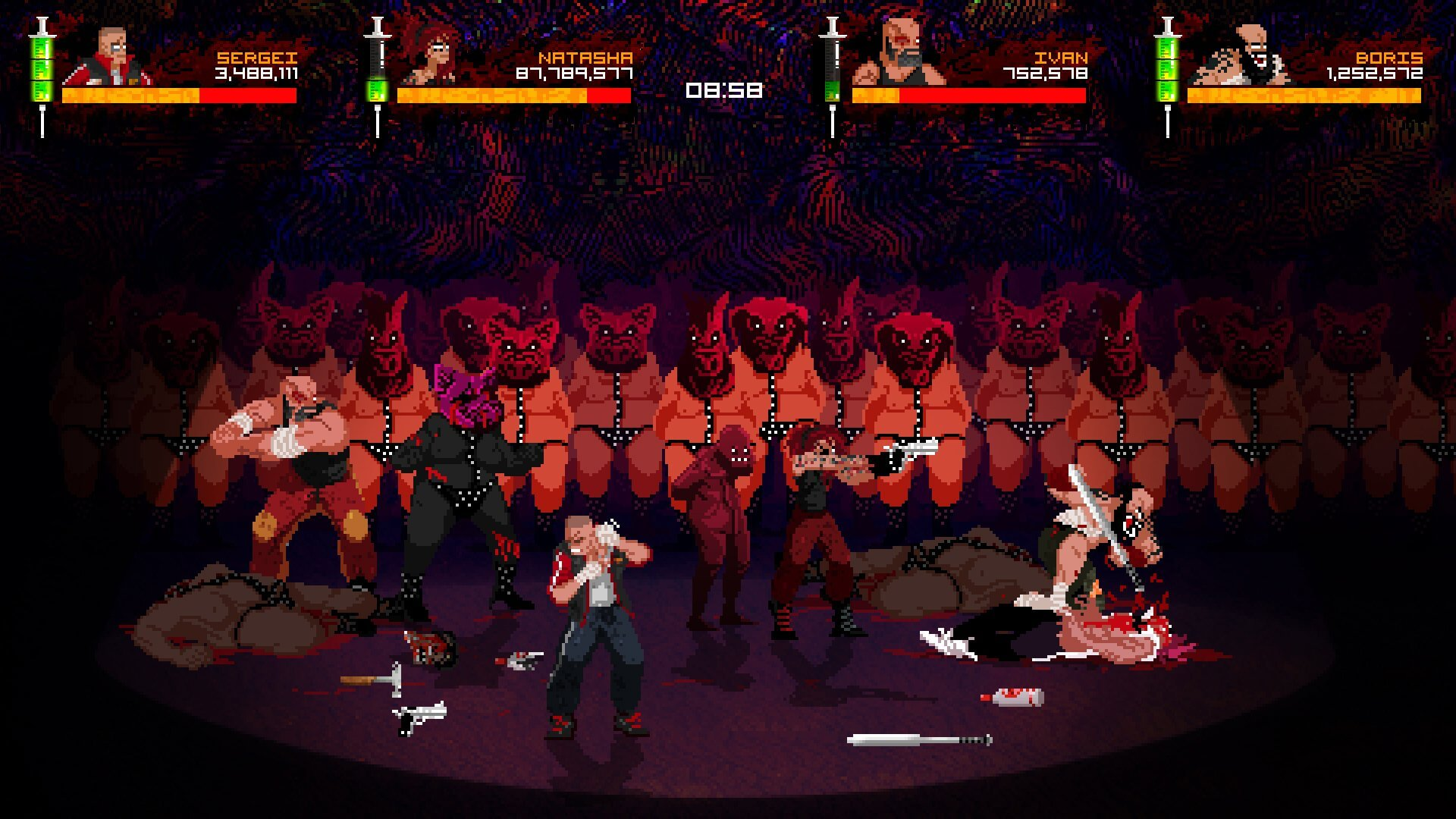 mother russia bleeds2 1 - Gore-soaked Beat 'Em Up Mother Russia Bleeds Pounds its Way onto Steam
