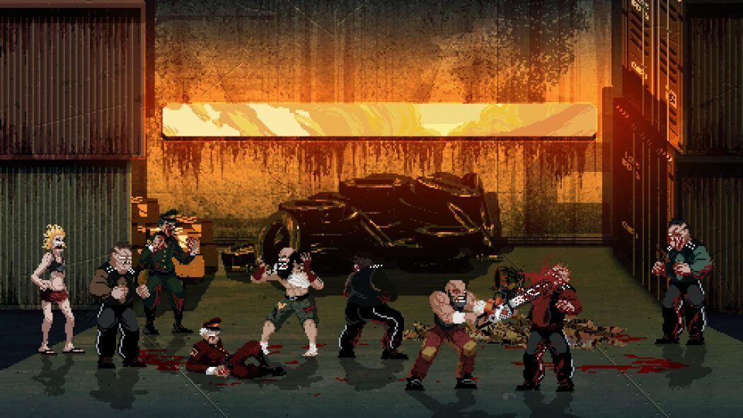 mother russia bleeds4 1 - Gore-soaked Beat 'Em Up Mother Russia Bleeds Pounds its Way onto Steam