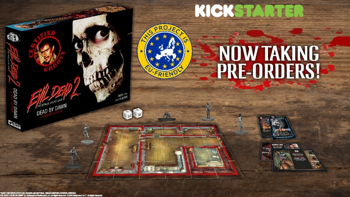 pre - Evil Dead 2 Board Game Now Available to Pre-Order