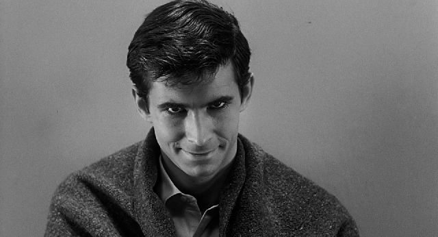 Anthony Perkins as Norman Bates in Alfred Hitchcock's 'Psycho'- Courtesy of Universal Pictures