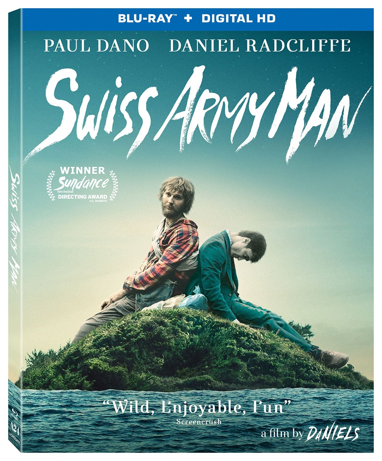 swiss army man - Swiss Army Man Washes Ashore on Blu-ray and DVD
