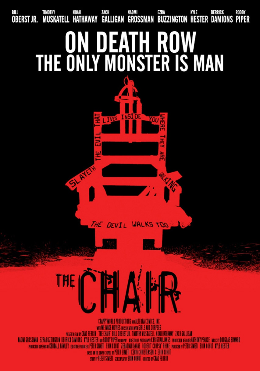 thechair poster - New Trailer, Poster, and Theatrical/Film Fest Plans Unveiled for The Chair
