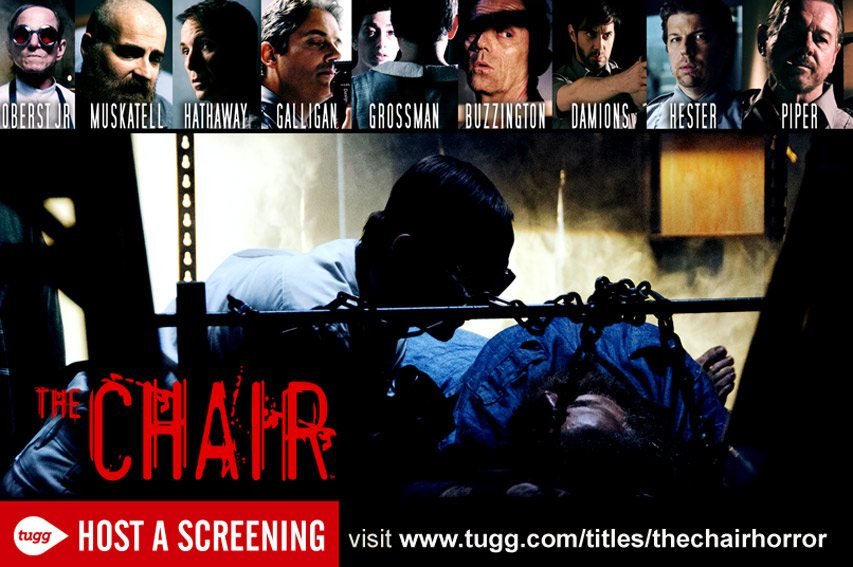 thechair tugg - New Trailer, Poster, and Theatrical/Film Fest Plans Unveiled for The Chair