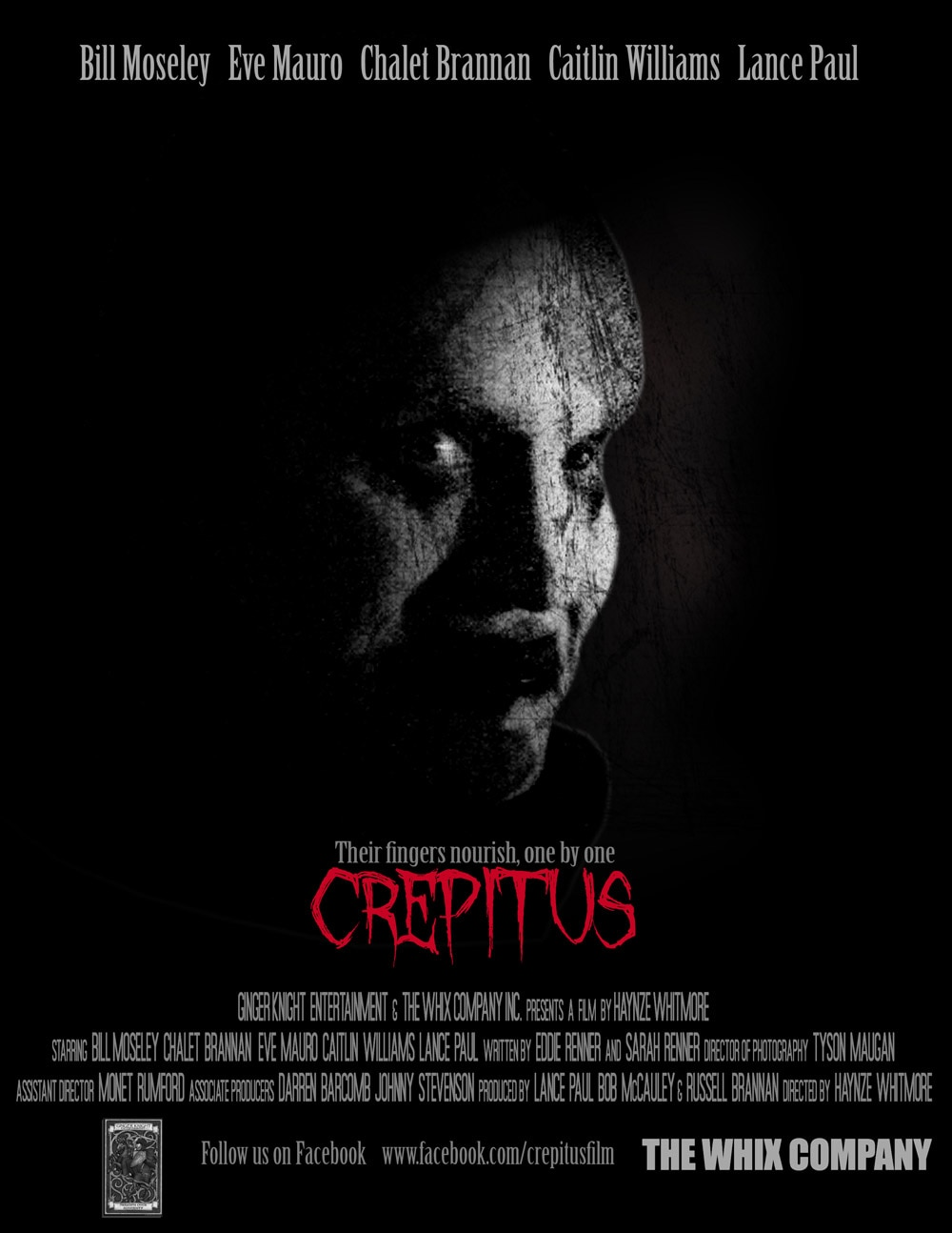 Crepitus Poster - Second Crepitus Trailer Ain't Clowning Around