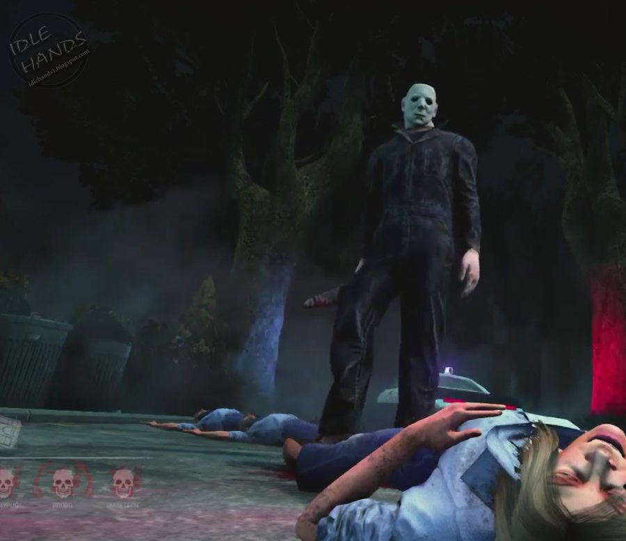 dead by dalight video game halloween dlc launch - Halloween Video Game Michael Myers