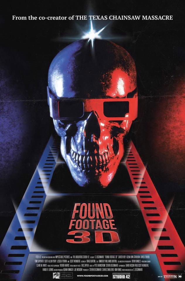Found Footage 3D - Found Footage 3D Gets a Killer Poster