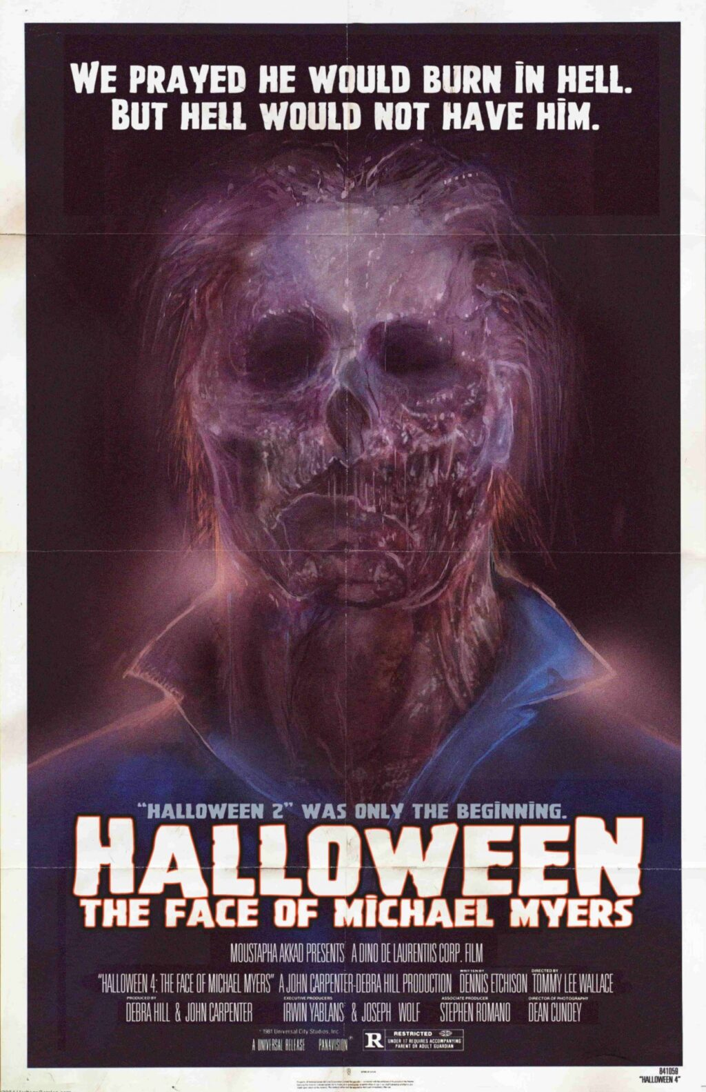 Happy Halloween from the FACE OF MICHAEL MYERS! - Dread Central