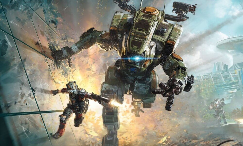 Titanfall 2 wall walking 1 - Titanfall 2 Campaign Trailer Stands Between Salvation and Extinction