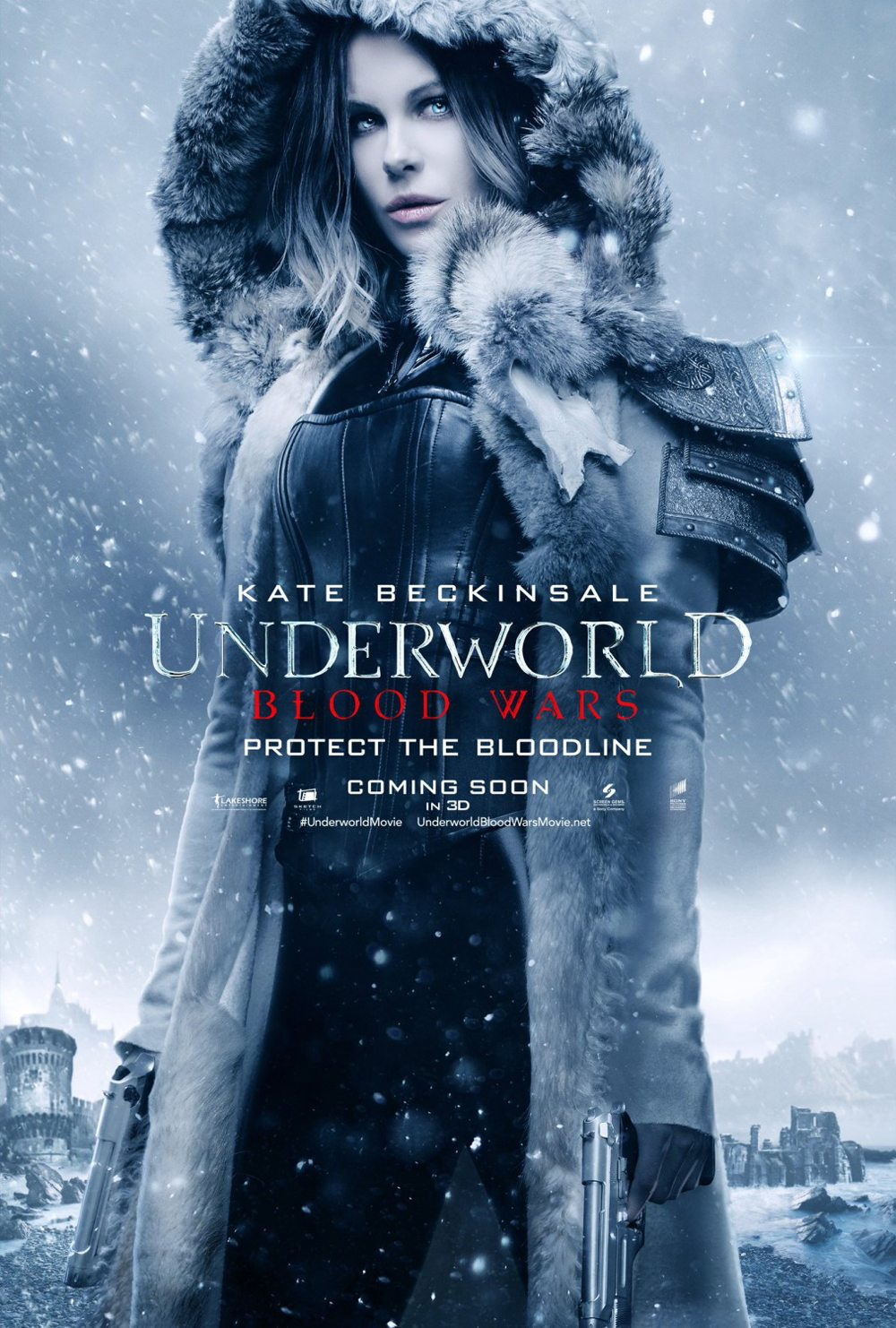 Underworld Blood Wars 101 - Another Underworld: Blood Wars Poster Slides In