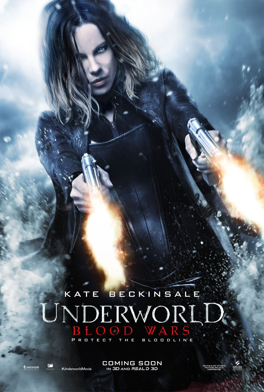 Underworld Blood Wars Main - Another Underworld: Blood Wars Poster Slides In