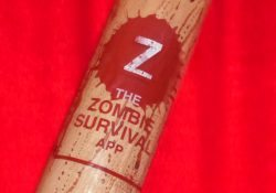 Zombie Survival App baseball bat