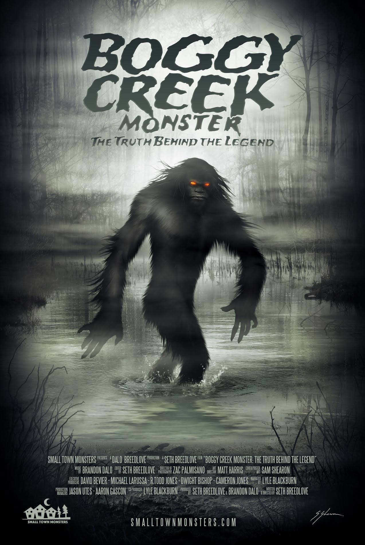 boggy creek monster 1 - Boggy Creek Monster Rising From the Murky Depths Next Month