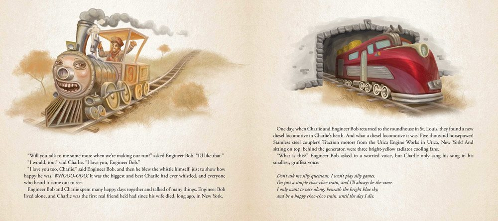 charlie choo choo 2 - Stephen King-Penned Picture Book Charlie the Choo-Choo an Easter Egg for Dark Tower Fans