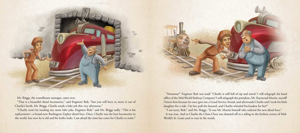 charlie choo choo 3 - Stephen King-Penned Picture Book Charlie the Choo-Choo an Easter Egg for Dark Tower Fans