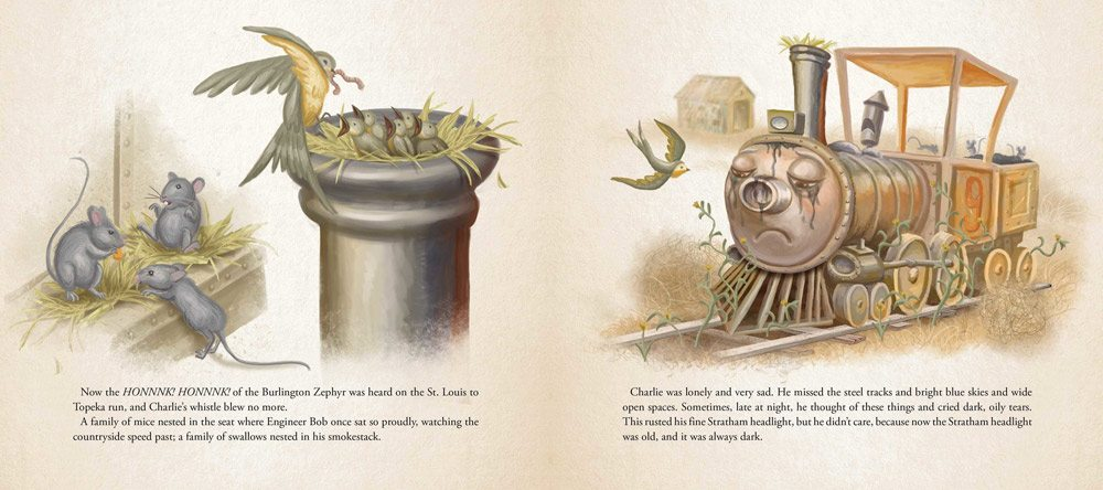 charlie choo choo 4 - Stephen King-Penned Picture Book Charlie the Choo-Choo an Easter Egg for Dark Tower Fans