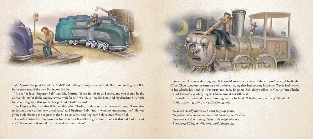 charlie choo choo 5 - Stephen King-Penned Picture Book Charlie the Choo-Choo an Easter Egg for Dark Tower Fans