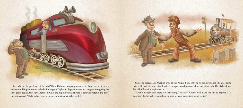 charlie choo choo 6 - Stephen King-Penned Picture Book Charlie the Choo-Choo an Easter Egg for Dark Tower Fans