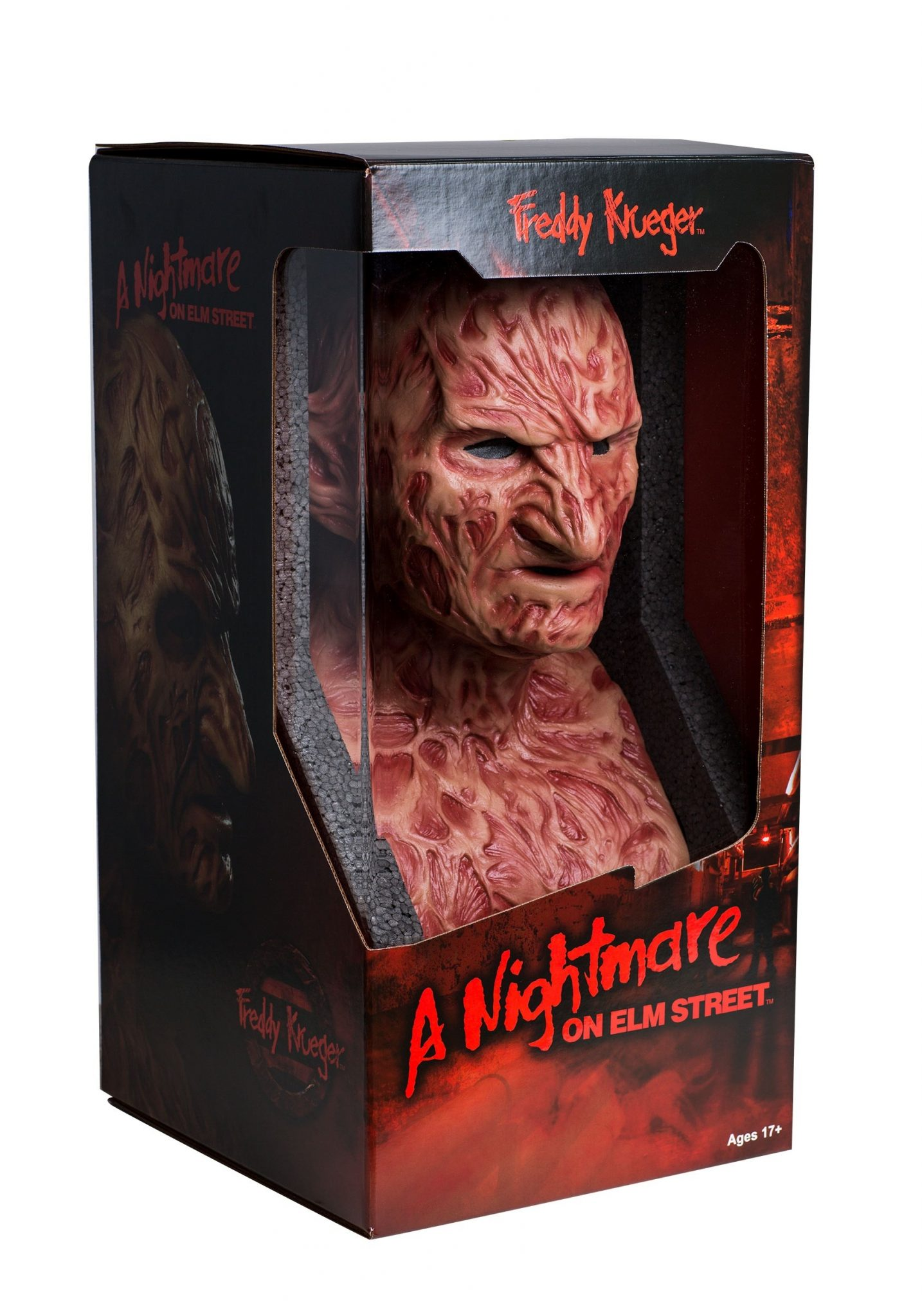 freddy krueger collectors mask box - See The ULTIMATE Freddy Krueger Mask!