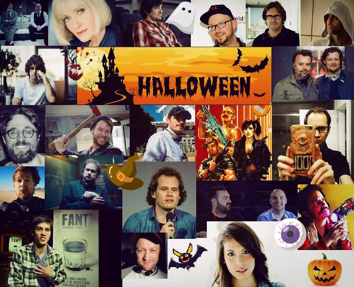 halloween collage dread central - Terror Talent Share Their Go-to Halloween Film Fixes