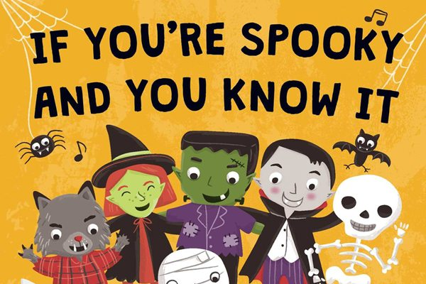 ifyourespookyandyouknowit s - Best Books of the Halloween Season #7: If You're Spooky and You Know It