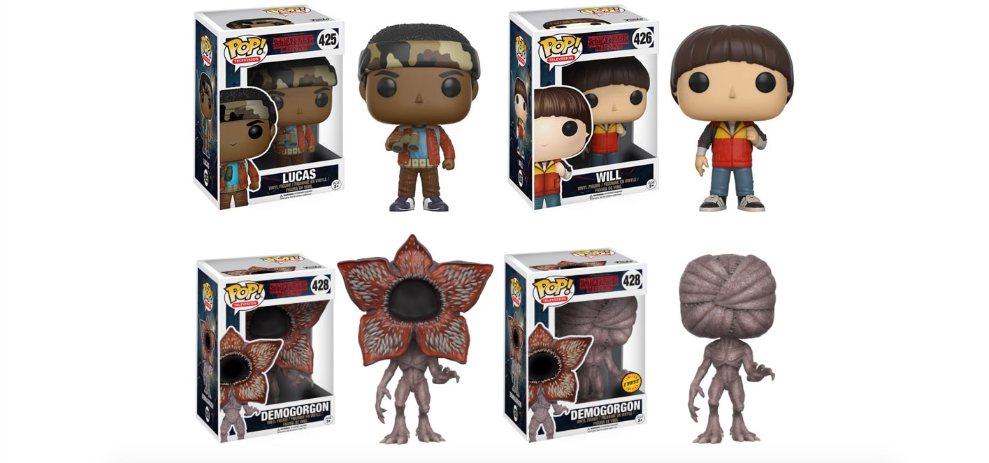 funko to unleash stranger things dread central. Black Bedroom Furniture Sets. Home Design Ideas