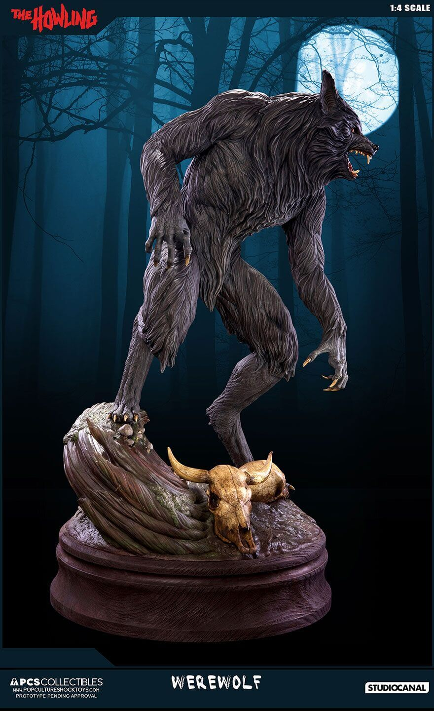The Howling Werewolf Statue Will Have You Howling with ...