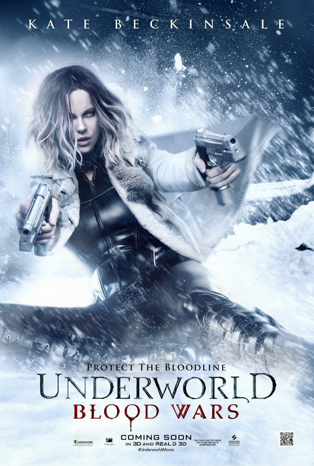 underworld blood wars ver7 xlg - Another Underworld: Blood Wars Poster Slides In