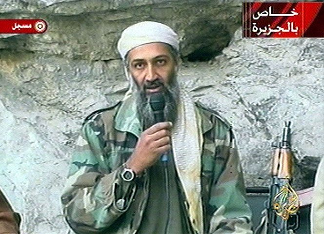 2001 Osama bin Laden at 002 - What President Trump Could Mean for the Future of Horror