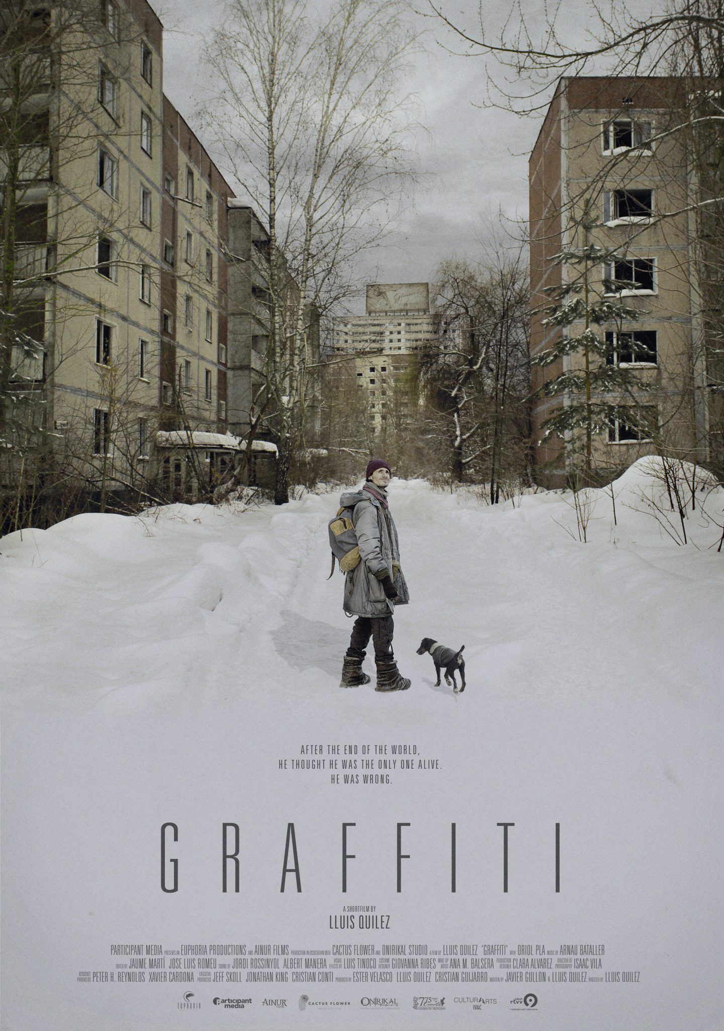 AFPosterGRAFFITIOnline - Lluis Quilez Talks Academy Award Short Film Contender Graffiti