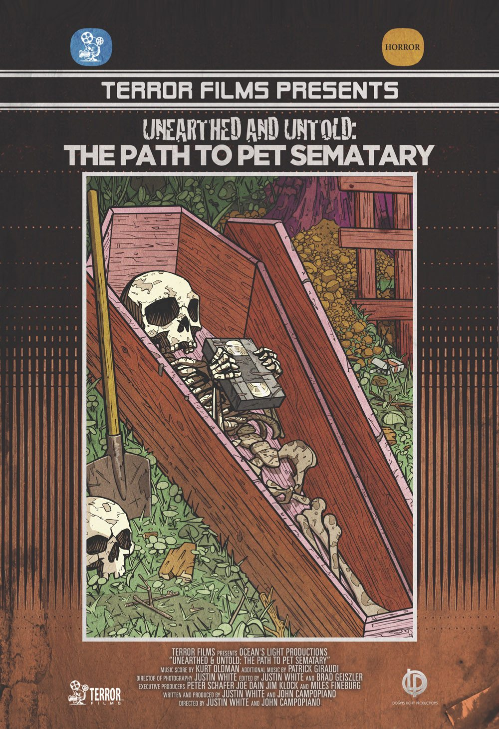 Unearthed and Untold Final Poster05 - Unearthed and Untold: The Path to Pet Sematary to Get Home Video Release