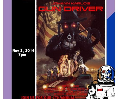 Zed Fest Presents 2016 Lobby Poster Gun Driver  500x422 - Zed Fest 2016 Now Under Way in North Hollywood