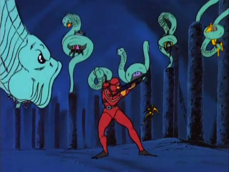 My Favorite Cartoon Monsters: The Worms of Death!
