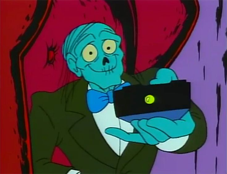 My Favorite Cartoon Monsters: The Cryptkeeper!