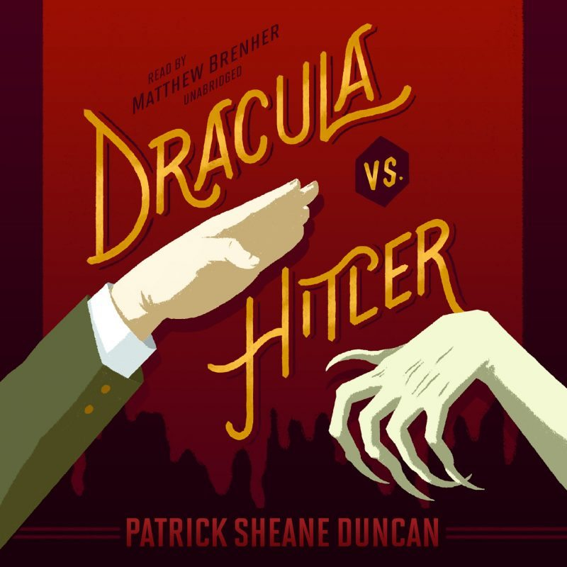 Dracula Vs. Hitler Audiobook Cover