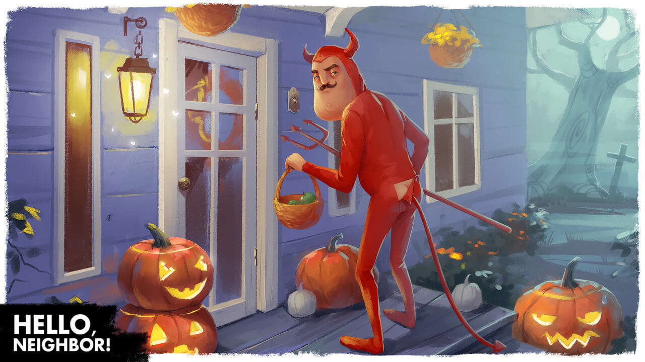 In Hello Neighbor There's Something Sinister Going On In