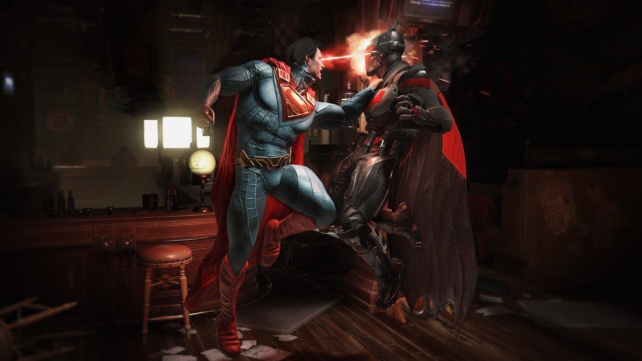 injustice2 superman 1 - Vote for Iconic Horror Characters to Appear in Injustice 2