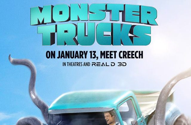 monstertrucks poster s - New Monster Trucks Trailer Comes Riding In with Creech in Tow