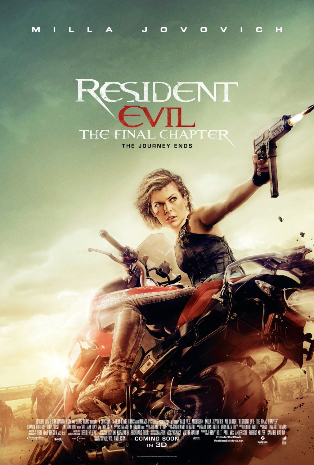 Image result for See Resident Evil: The Final Chapter