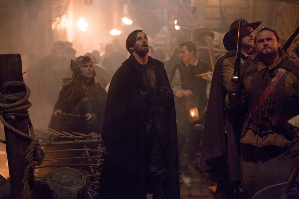 salem303b - Exclusive Video from Salem Episode 3.03 - The Reckoning: Cotton Warns Isaac of Witches