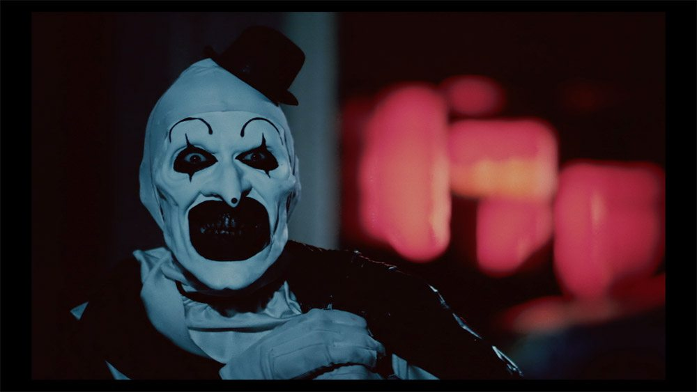 terrifier guaranteed to terrify with spookiest clown ever